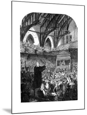 The Trial of Dr Sacheverel, 18th Century--Mounted Giclee Print
