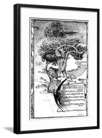 Blow, Blow, Thou Winter Wind, 1895-Giraldo Eduardo Lobo de Moura-Framed Giclee Print