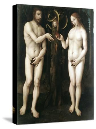 Adam and Eve' ('The Temptation of Adam), C1520--Stretched Canvas Print