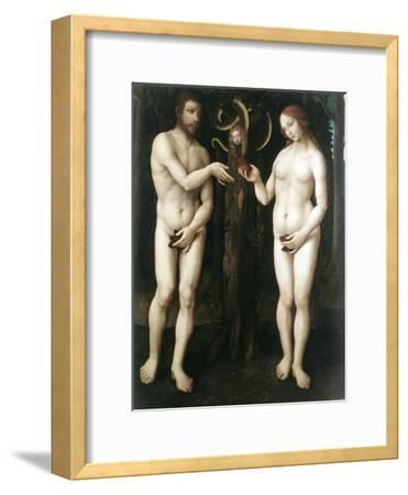 Adam and Eve' ('The Temptation of Adam), C1520--Framed Giclee Print