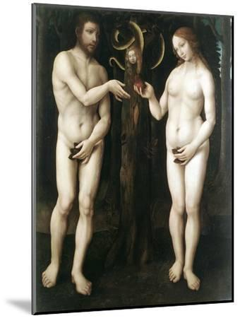 Adam and Eve' ('The Temptation of Adam), C1520--Mounted Giclee Print