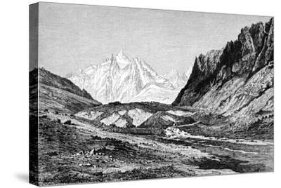 The Shchurovskiy Glacier, Russia, 1895--Stretched Canvas Print