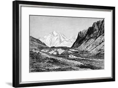 The Shchurovskiy Glacier, Russia, 1895--Framed Giclee Print