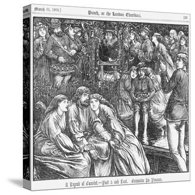 A Legend of Camelot - Part 5 and Last, 1866--Stretched Canvas Print