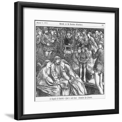 A Legend of Camelot - Part 5 and Last, 1866--Framed Giclee Print