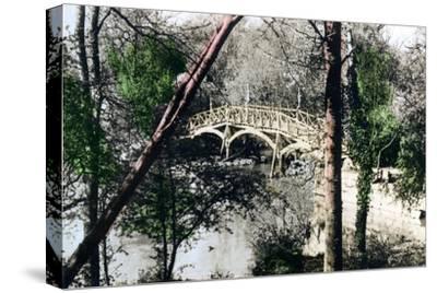 Bridge over the River Thames at Nuneham Courtenay, Oxfordshire, 1926--Stretched Canvas Print