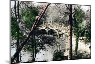Bridge over the River Thames at Nuneham Courtenay, Oxfordshire, 1926--Mounted Giclee Print