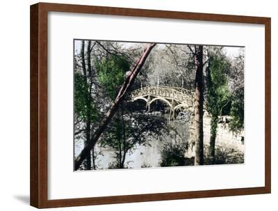 Bridge over the River Thames at Nuneham Courtenay, Oxfordshire, 1926--Framed Giclee Print