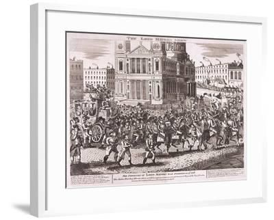 Lord Mayor's Show, 1816--Framed Giclee Print