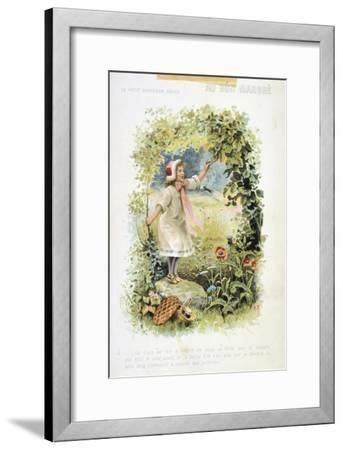 Litttle Red Riding Hood, 19th Century--Framed Giclee Print