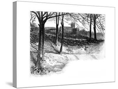 St Albans, from Verulam, 19th Century--Stretched Canvas Print