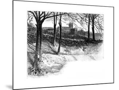 St Albans, from Verulam, 19th Century--Mounted Giclee Print