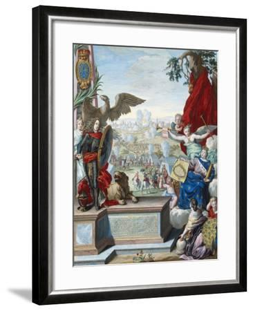 Capture of the Fortress of Douai by the Allied Troops in 1710, Early 18th Century-Joseph de Montalegre-Framed Giclee Print