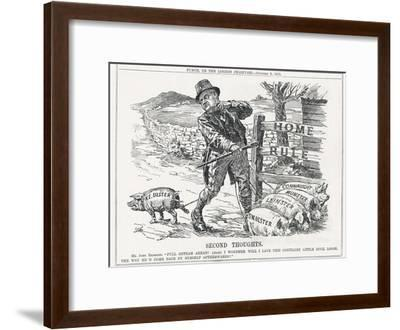 Second Thoughts, 1913--Framed Giclee Print