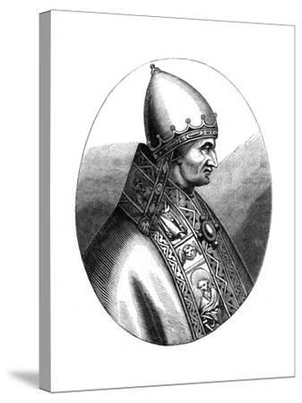 Pope Innocent IV (1180-125), 1849--Stretched Canvas Print