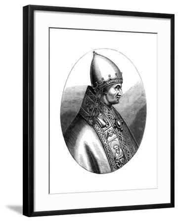 Pope Innocent IV (1180-125), 1849--Framed Giclee Print