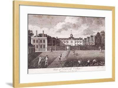 Dulwich College, Camberwell, London, 1790-Taylor-Framed Giclee Print