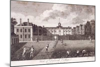 Dulwich College, Camberwell, London, 1790-Taylor-Mounted Giclee Print