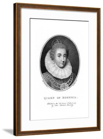 Elizabeth, Electress Palatine and Queen of Bohemia-Taylor-Framed Giclee Print