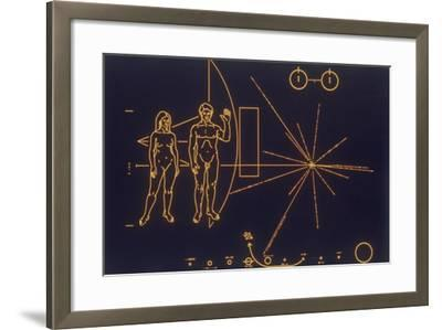 A Universal Message of Friendship, 1977--Framed Giclee Print