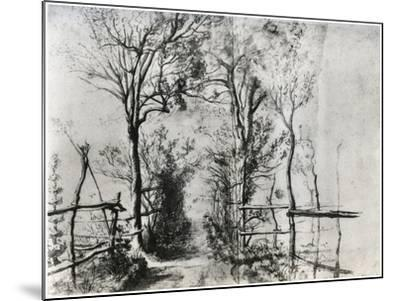 A Path Bordered by Trees, C1620-1625-Peter Paul Rubens-Mounted Giclee Print