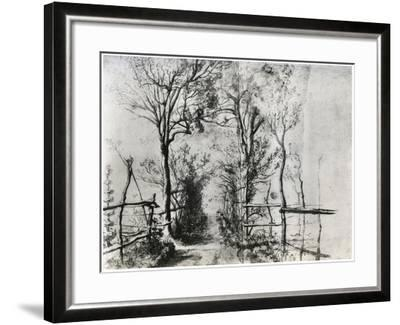 A Path Bordered by Trees, C1620-1625-Peter Paul Rubens-Framed Giclee Print