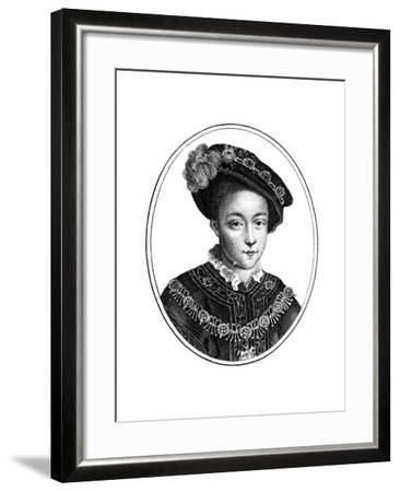 Edward VI, King of England--Framed Giclee Print