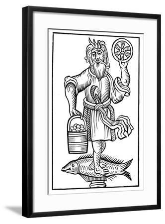 Representation of Crodon, 1656--Framed Giclee Print