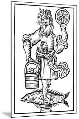Representation of Crodon, 1656--Mounted Giclee Print