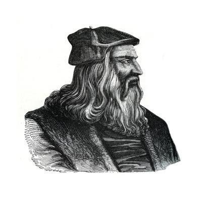 Leonardo Da Vinci, 16th Century--Framed Giclee Print