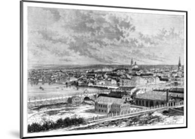Yekaterinburg, Russia, 1895--Mounted Giclee Print