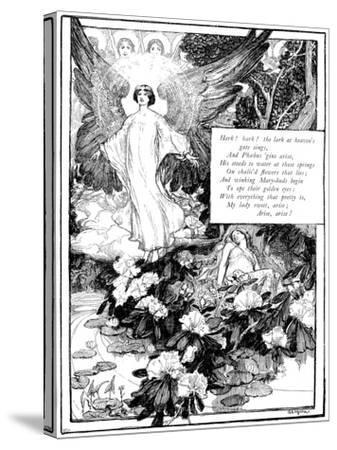 Hark! the Lark, 1895-Giraldo Eduardo Lobo de Moura-Stretched Canvas Print