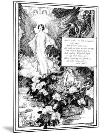 Hark! the Lark, 1895-Giraldo Eduardo Lobo de Moura-Mounted Giclee Print