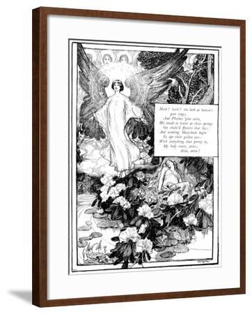 Hark! the Lark, 1895-Giraldo Eduardo Lobo de Moura-Framed Giclee Print
