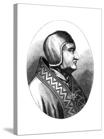 Pope Clement IV (D126), 1849--Stretched Canvas Print