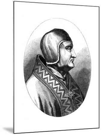 Pope Clement IV (D126), 1849--Mounted Giclee Print