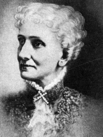Mary Baker Eddy, American Founder of the Church of Christ, Scientist--Framed Giclee Print