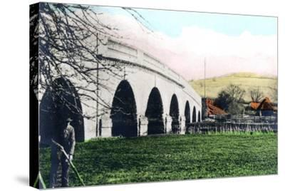 Swineford Bridge, Keynsham, Bath and Northeast Somerset, 1926--Stretched Canvas Print