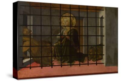 Saint Mamas in Prison Thrown to the Lions, 1455-1460-Fra Filippo Lippi-Stretched Canvas Print