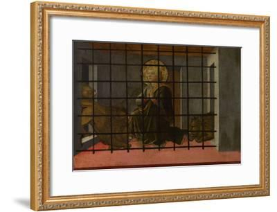 Saint Mamas in Prison Thrown to the Lions, 1455-1460-Fra Filippo Lippi-Framed Giclee Print