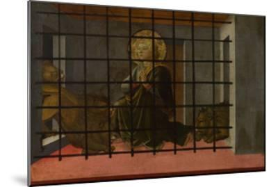 Saint Mamas in Prison Thrown to the Lions, 1455-1460-Fra Filippo Lippi-Mounted Giclee Print