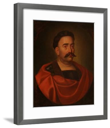 Portrait of John III Sobieski (1629-169), King of Poland and Grand Duke of Lithuania--Framed Giclee Print