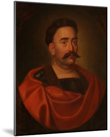 Portrait of John III Sobieski (1629-169), King of Poland and Grand Duke of Lithuania--Mounted Giclee Print