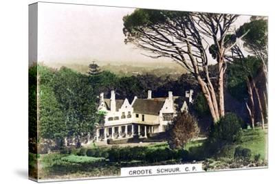 Groote Schuur House, Cape Town, South Africa, C1920S--Stretched Canvas Print