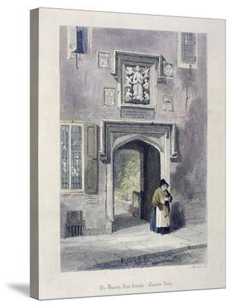 Crutched Friars, London, 1851-John Wykeham Archer-Stretched Canvas Print