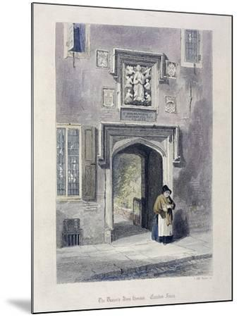 Crutched Friars, London, 1851-John Wykeham Archer-Mounted Giclee Print