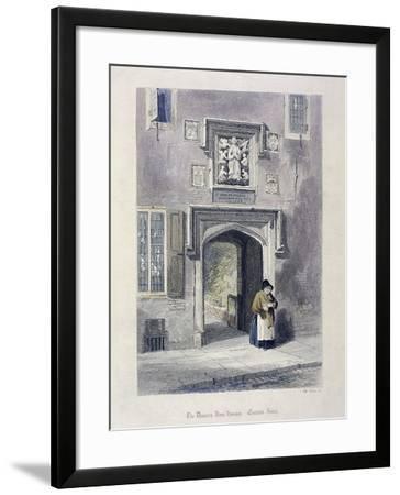 Crutched Friars, London, 1851-John Wykeham Archer-Framed Giclee Print