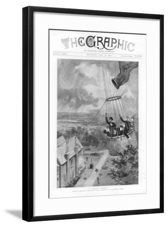 A Critical Moment, 1890--Framed Giclee Print