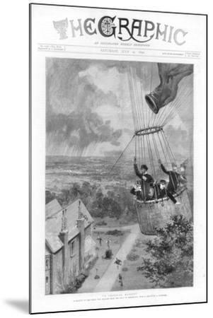 A Critical Moment, 1890--Mounted Giclee Print