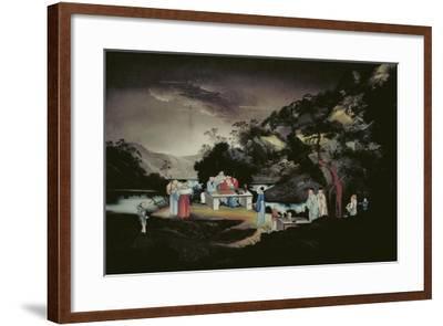 Chinese Scene, C1800-1850--Framed Giclee Print